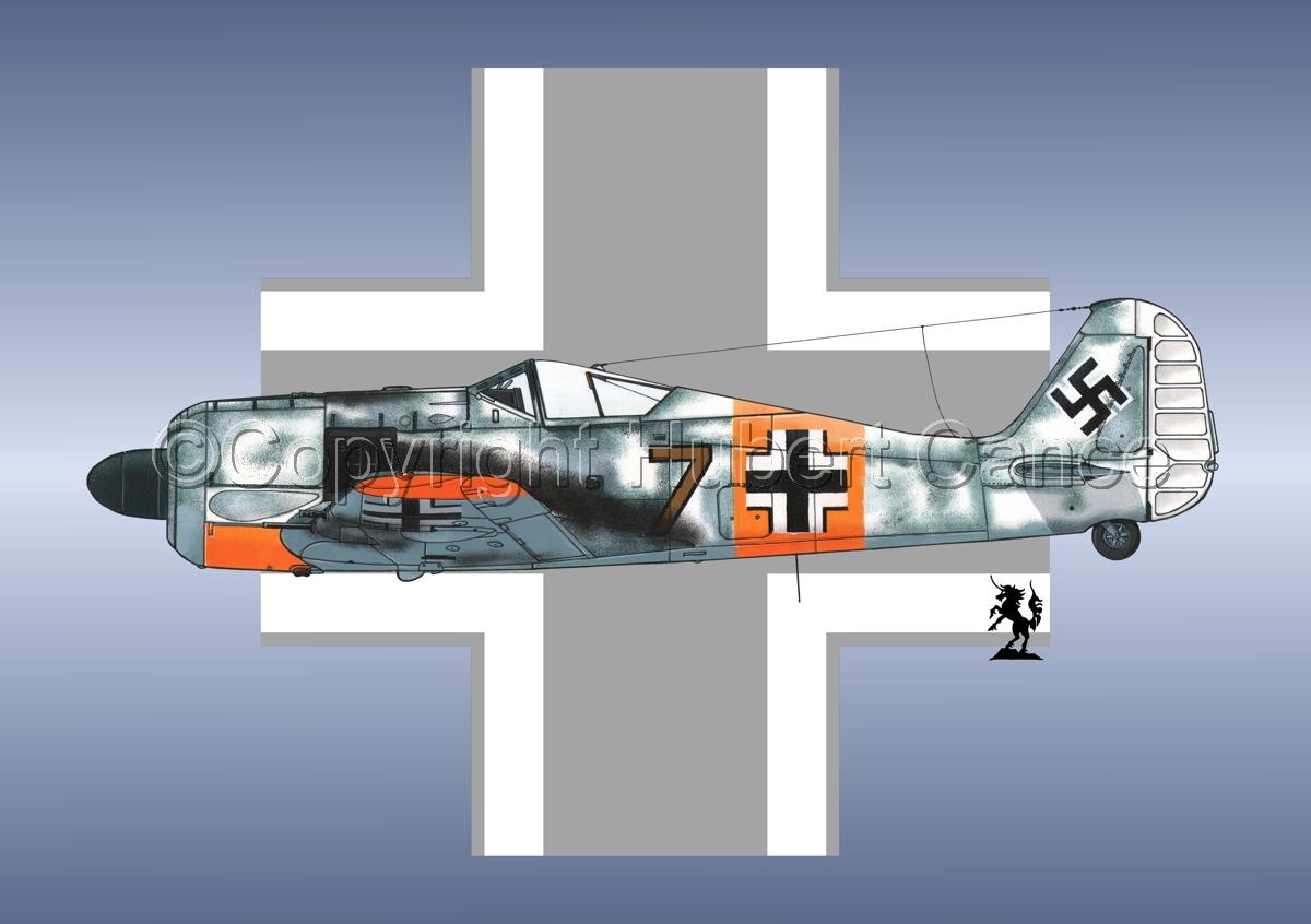 Focke-Wulf Fw 190A-3 (Roundel #1) (large view)