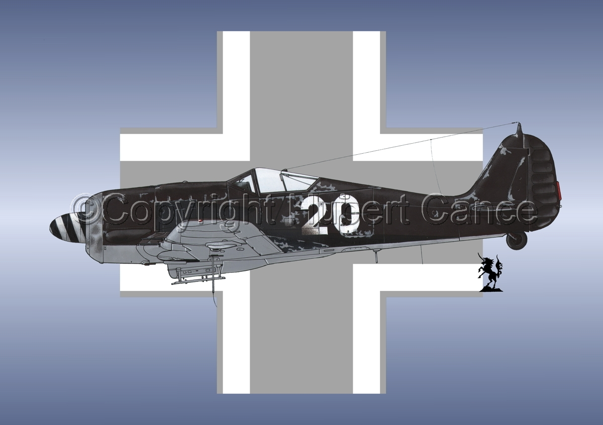 Focke-Wulf Fw 190A-8 (Roundel #1) (large view)