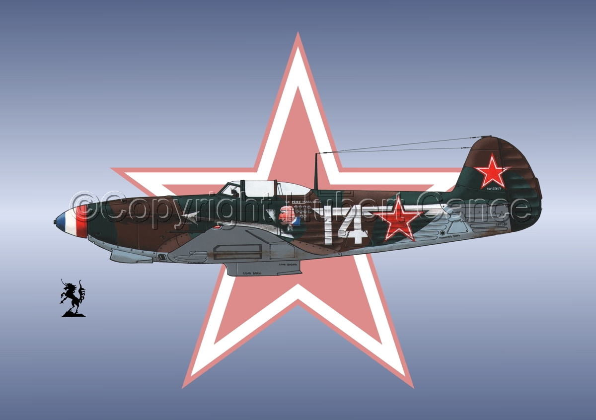 Yakovlev Yak-9D (Roundel #1) (large view)