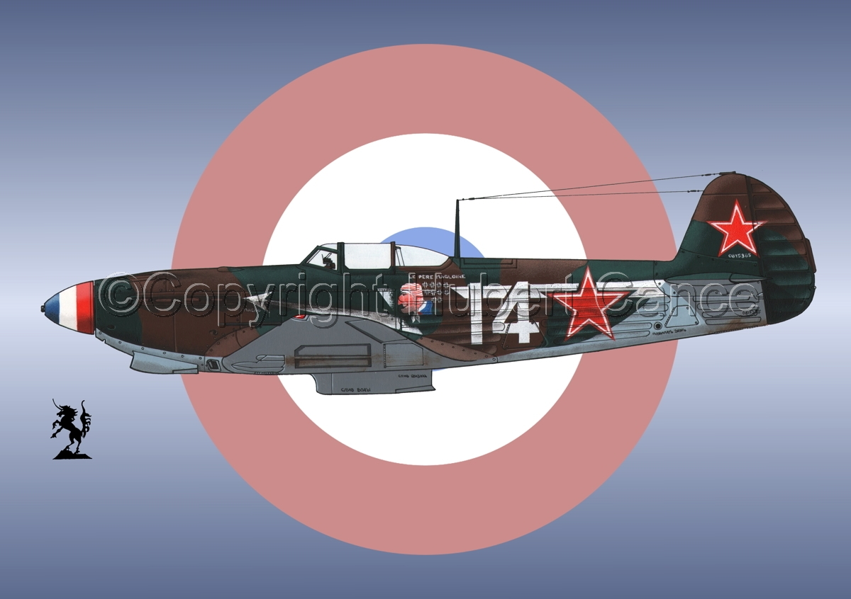 Yakovlev Yak-9D (Roundel #2) (large view)