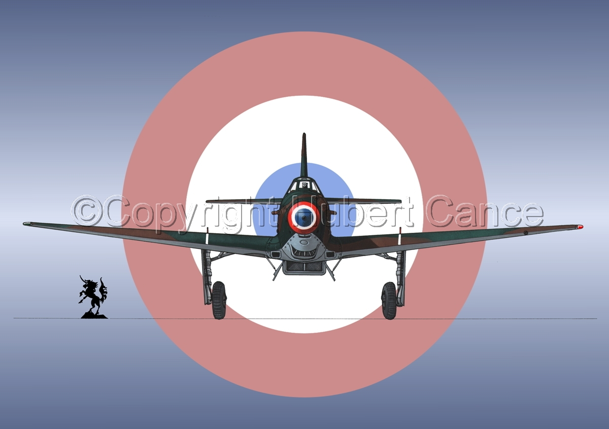 Yakovlev Yak-9D (Front) (Roundel #2) (large view)