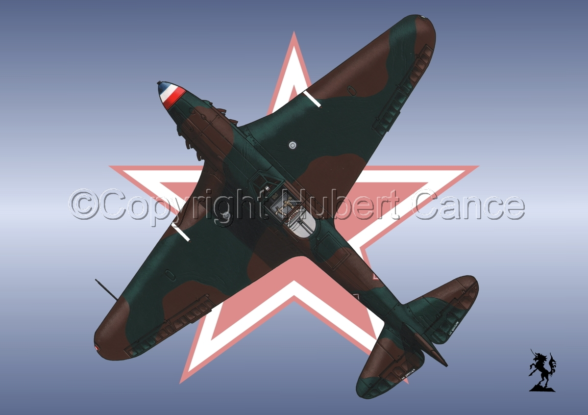 Yakovlev Yak-9D (Upper) (Roundel #1) (large view)