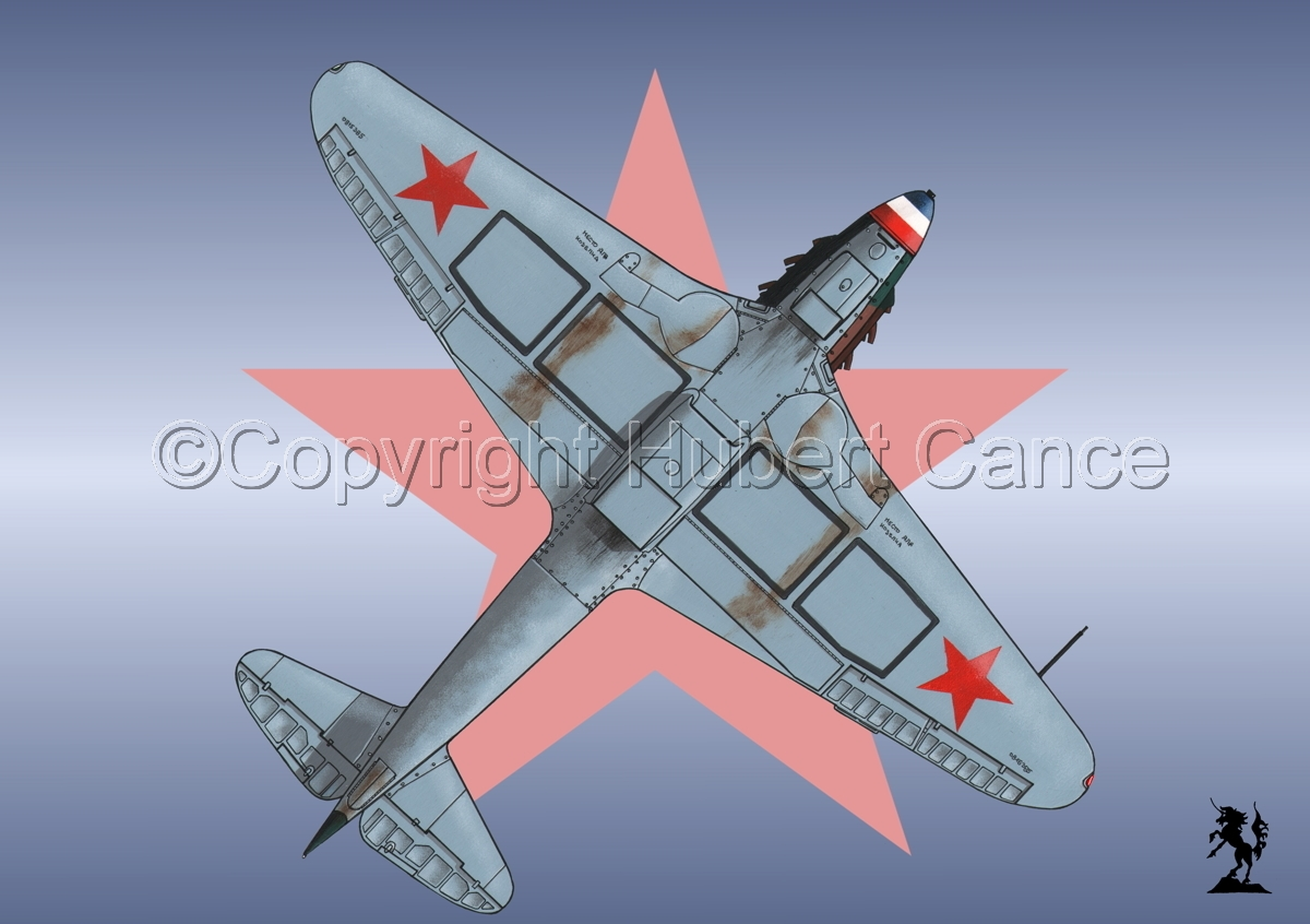 Yakovlev Yak-9D (Under) (Roundel #1) (large view)
