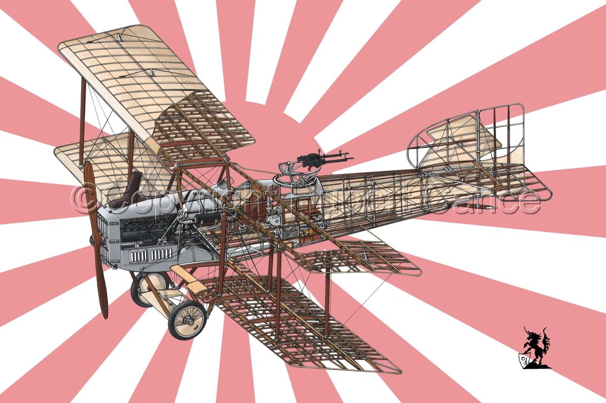 Breguet XIV B2 (Flag #8) (large view)
