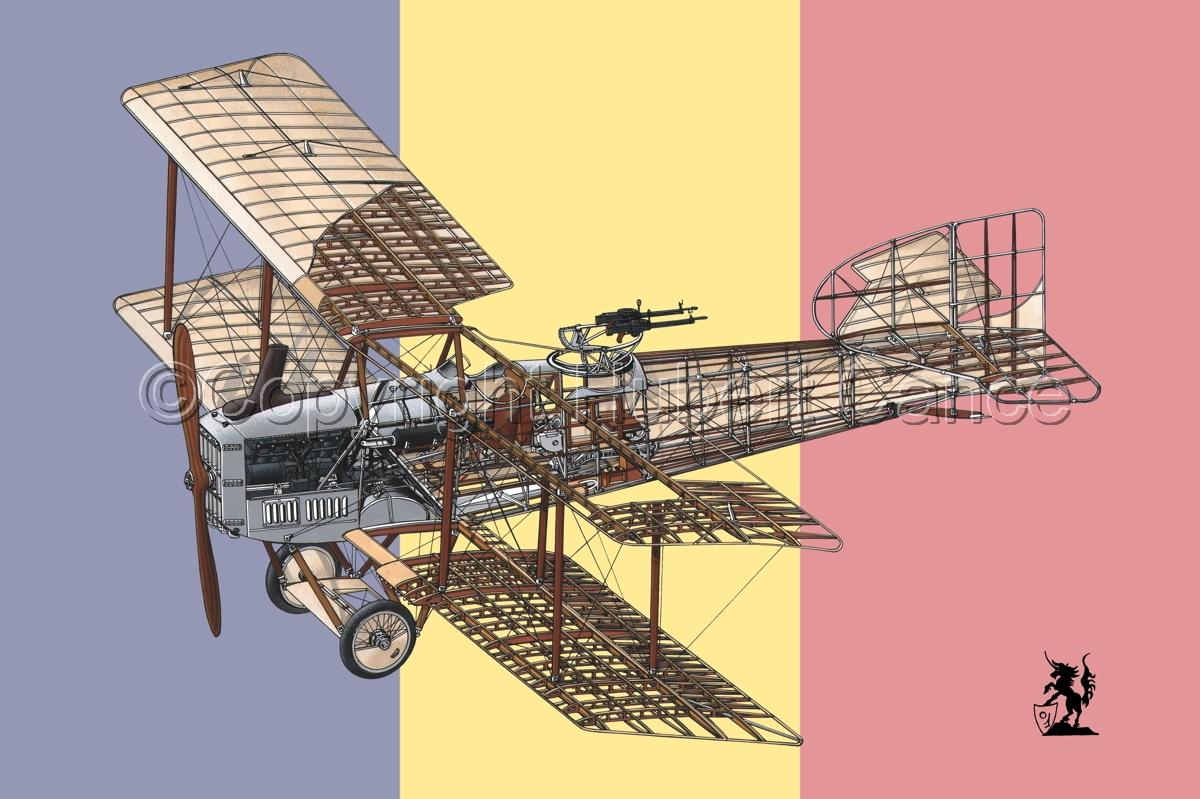 Breguet XIV B2 (Flag #9) (large view)