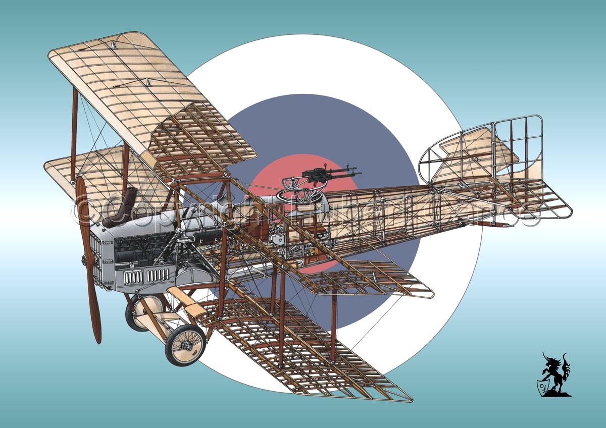 Breguet XIV B2 (Roundel #4) (large view)