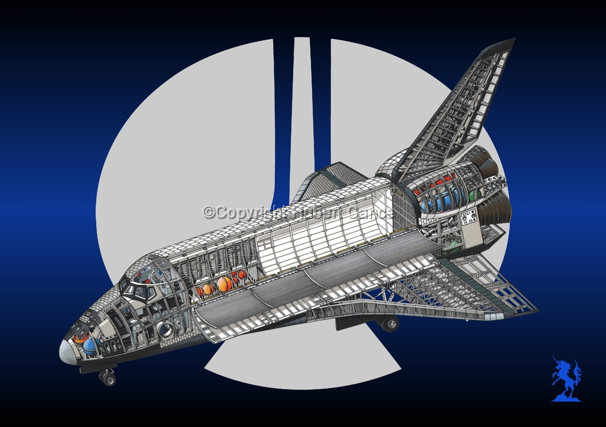 Rockwell Space Shuttle (Logo #2) (large view)