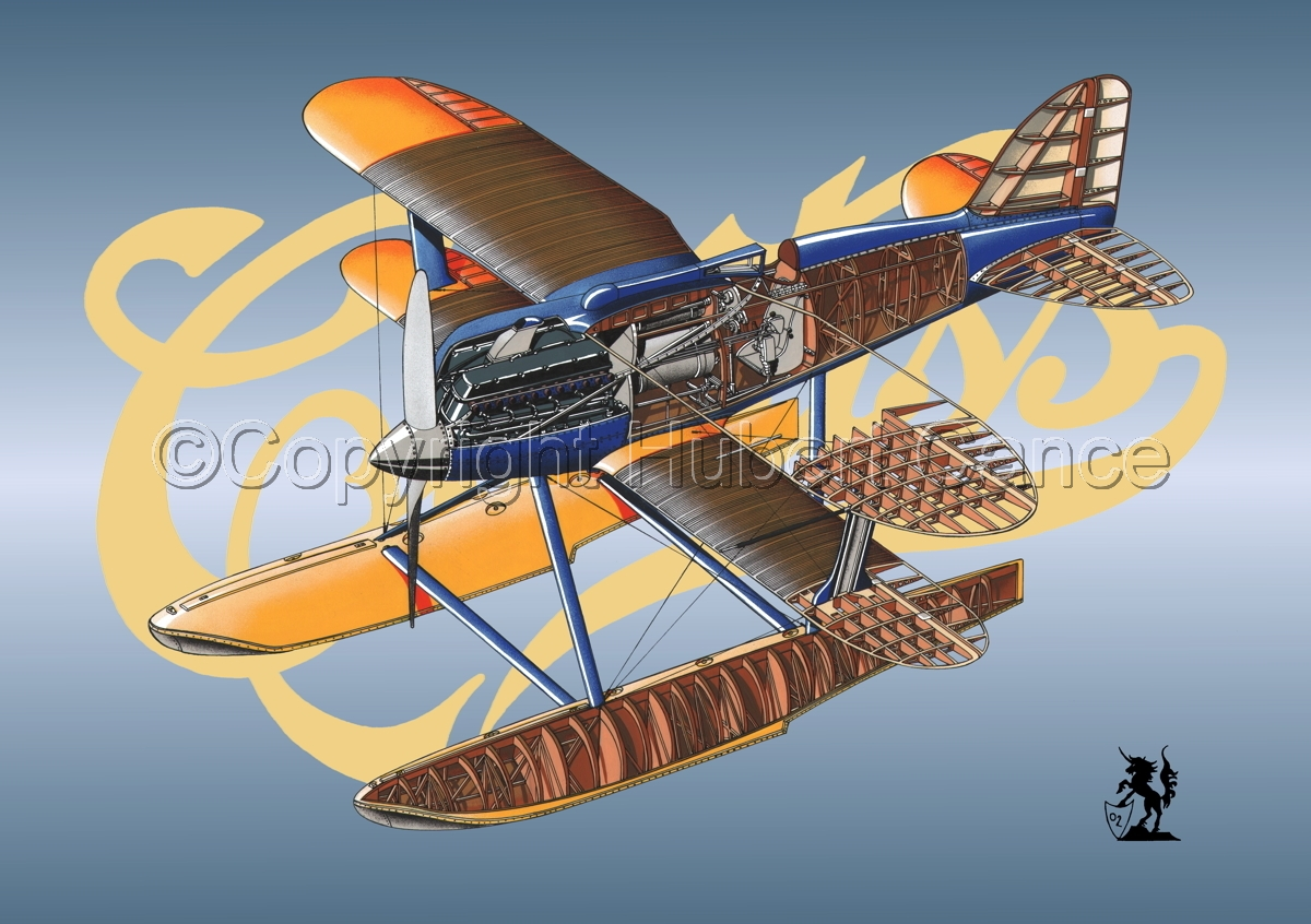 Curtiss R3C2 Army Racer (Logo) (large view)
