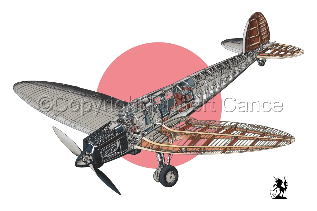 Heinkel He.70G Airliner (Flag #4) (large view)