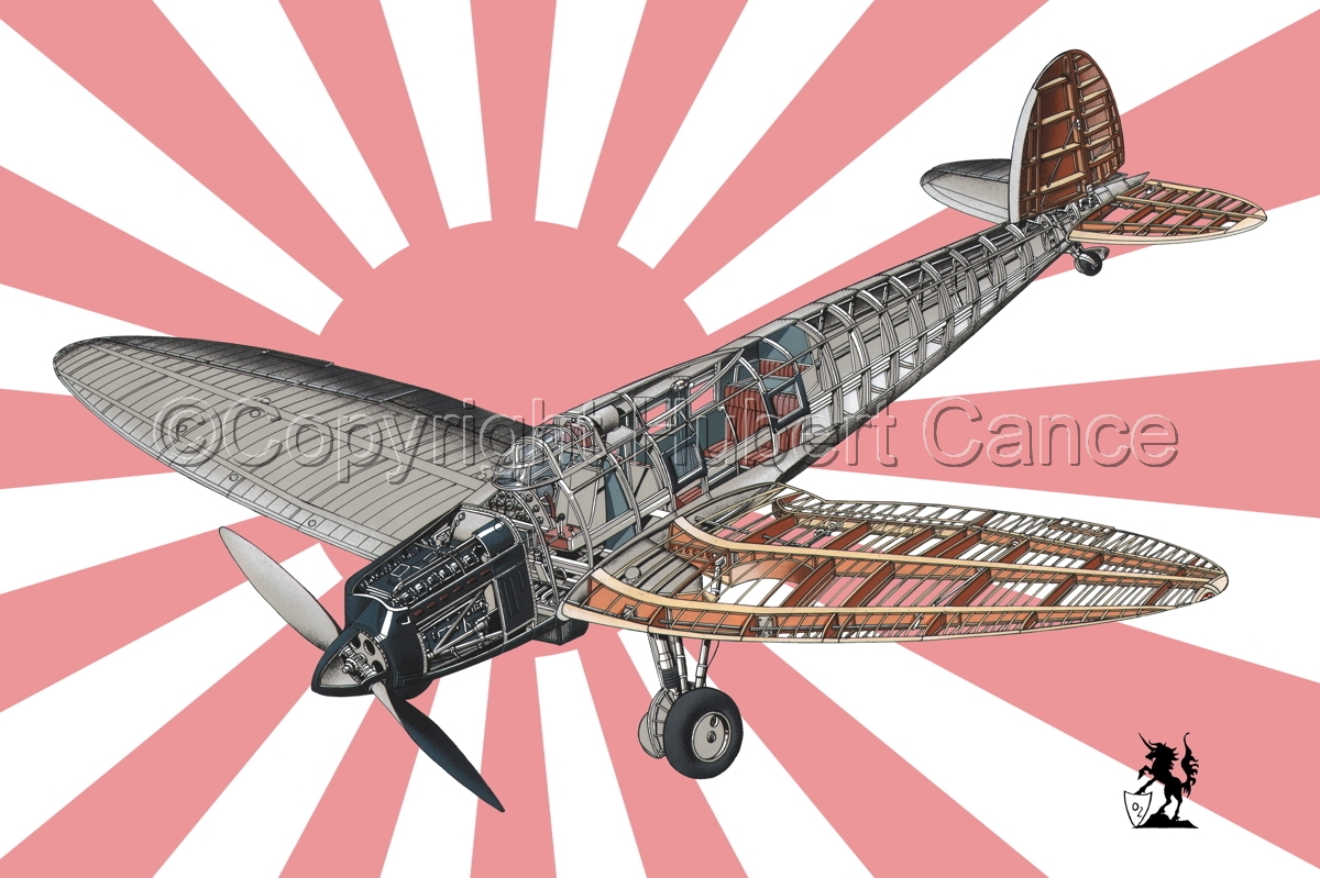 Heinkel He.70G Airliner (Flag #5) (large view)