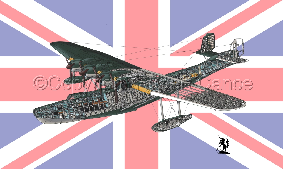 "Kawanishi H6K5 ""Mavis"" (Flag #5) (large view)"