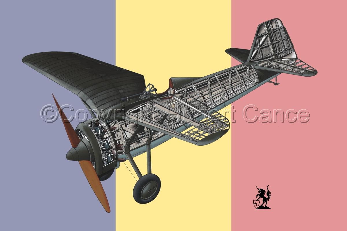 PZL P.7a (Flag #3) (large view)