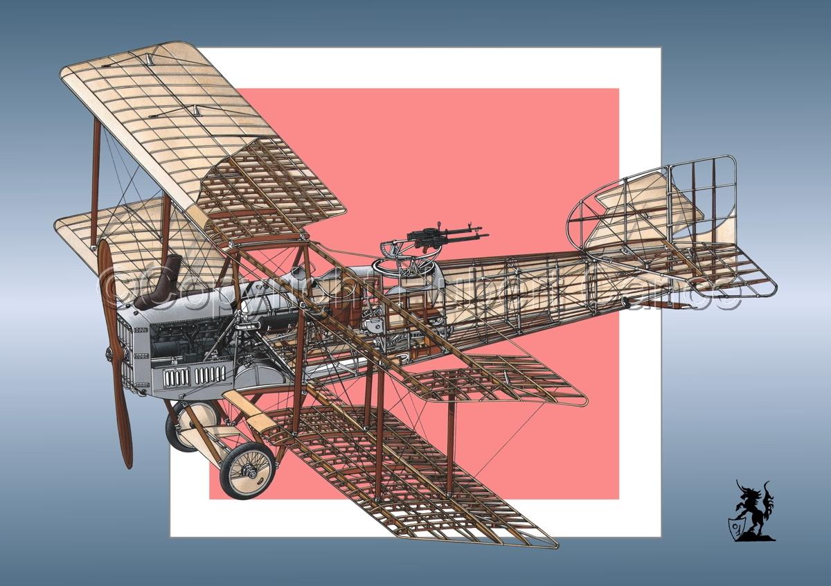 Breguet XIV B2 (Roundel #10) (large view)