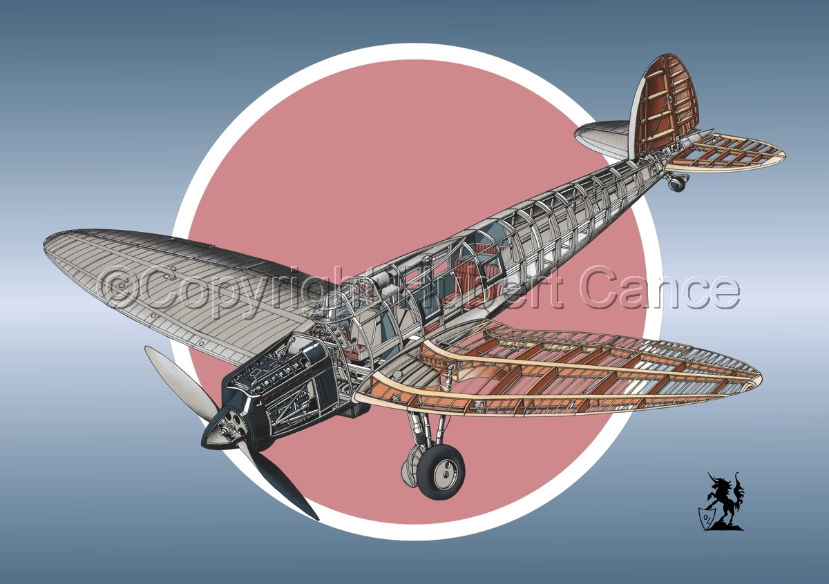 Heinkel He.70G Airliner (Roundel #1) (large view)