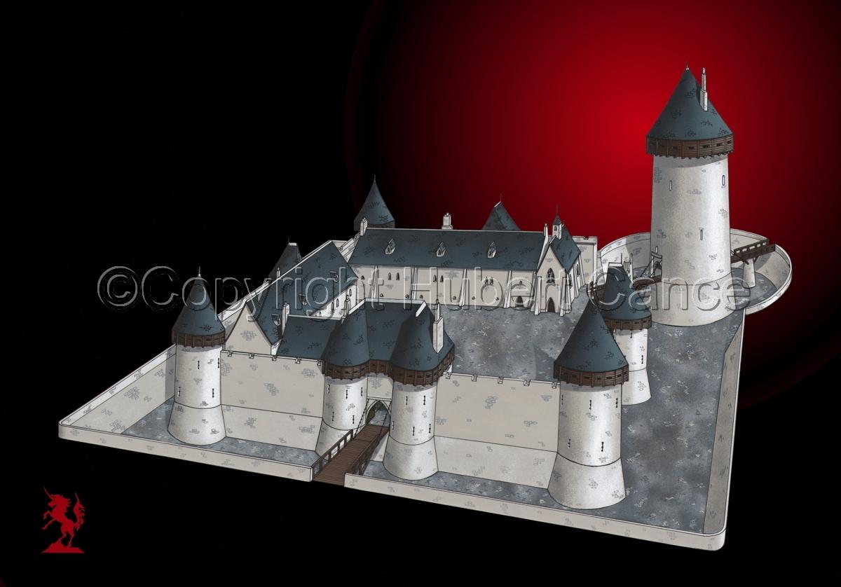 Chateau de Dourdan #5 (large view)