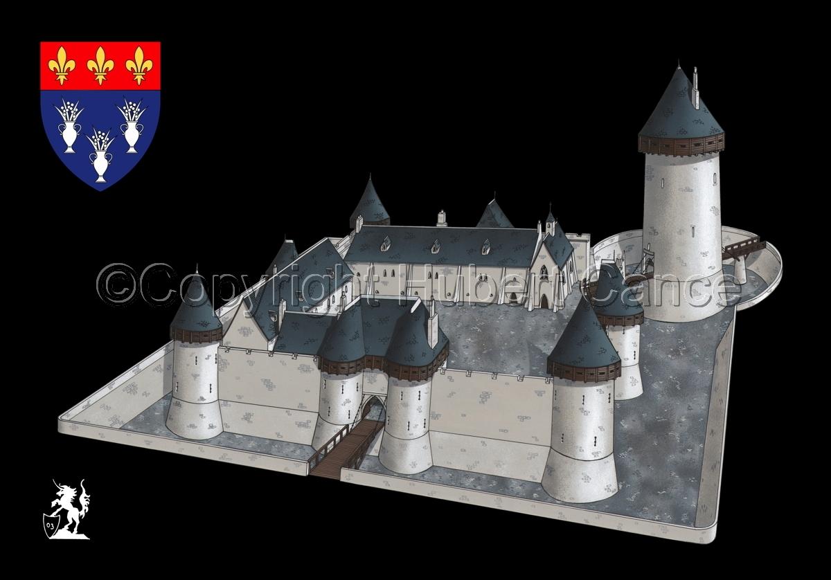 Chateau de Dourdan (Shield #1.5) (large view)