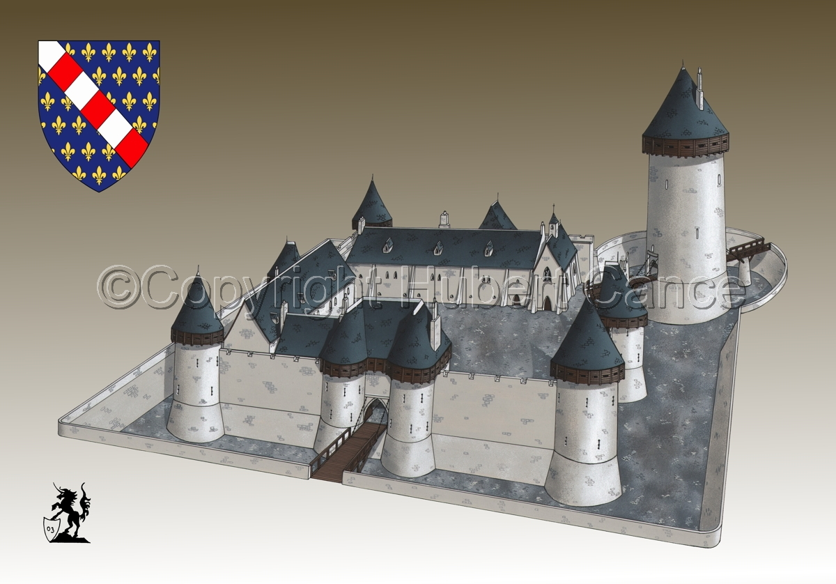 Chateau de Dourdan (Shield #2.3) (large view)