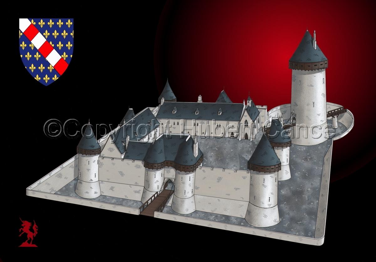 Chateau de Dourdan (Shield #2.4) (large view)