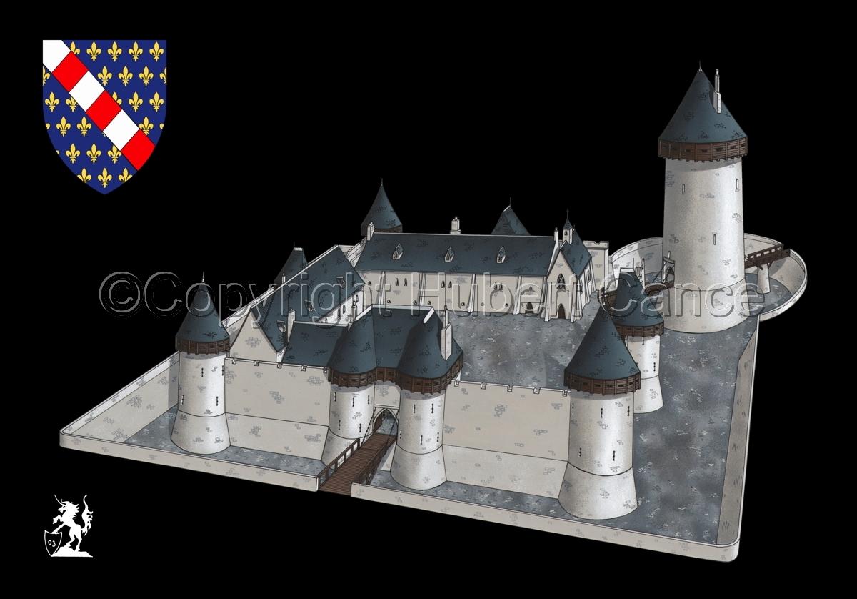 Chateau de Dourdan (Shield #2.5) (large view)