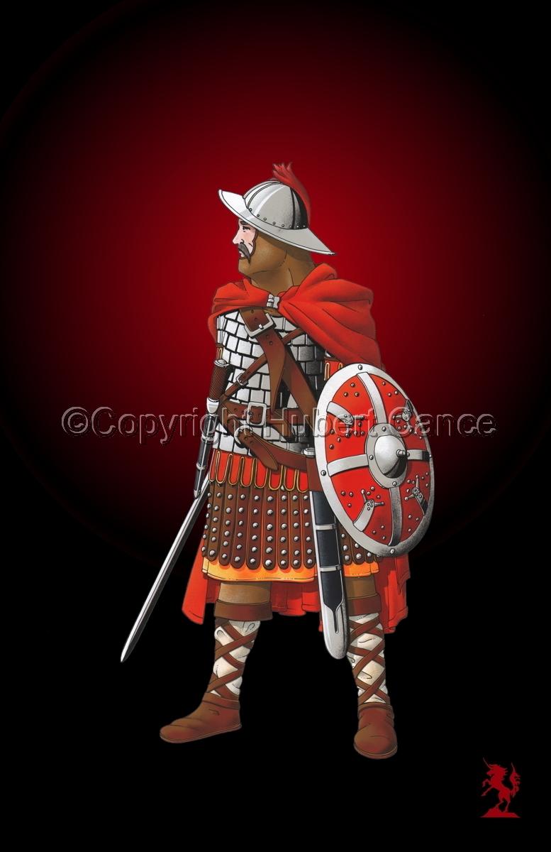Guard of Emperor Carolus Magnus (800) #4 (large view)