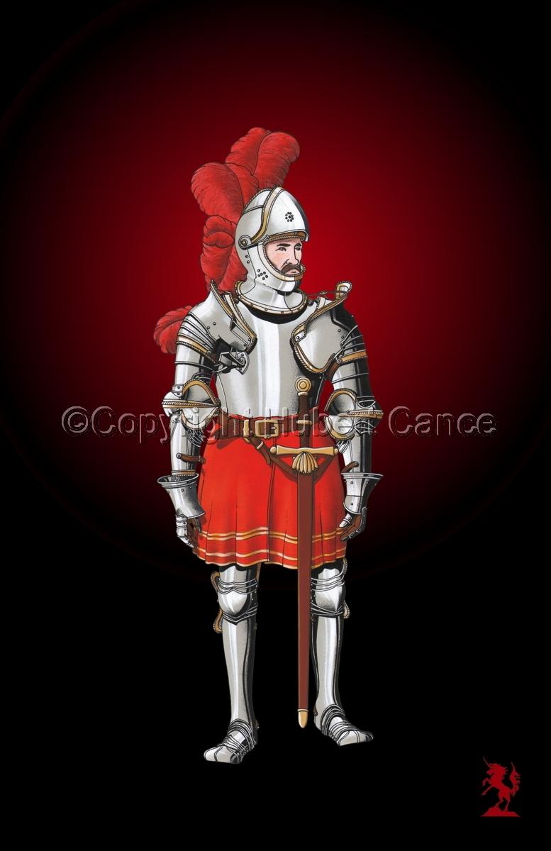 Pierre III Terrail, Knight of Bayard (1524) #2.4 (large view)