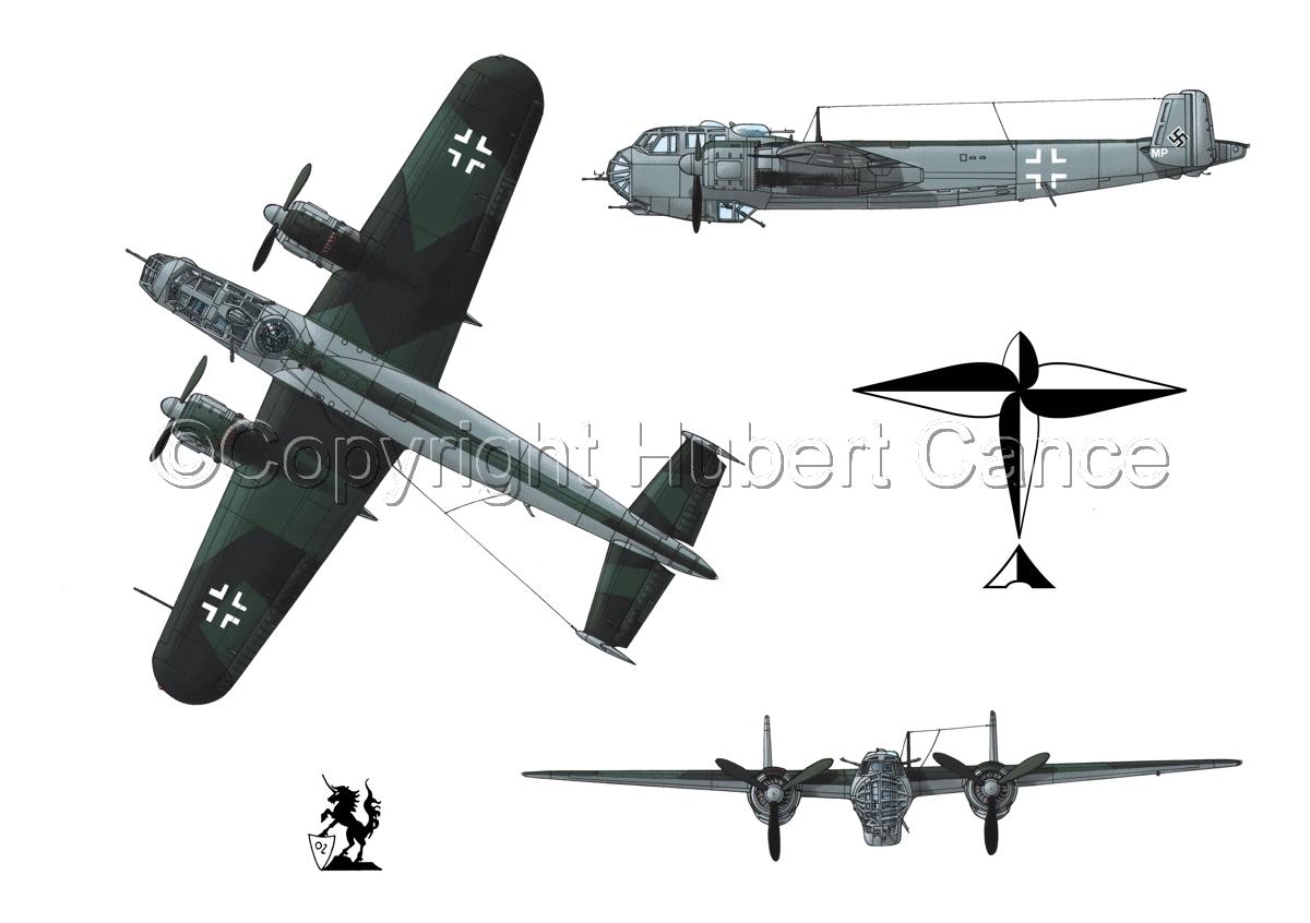 Dornier Do 217E-2 (Logo #1.1) (large view)