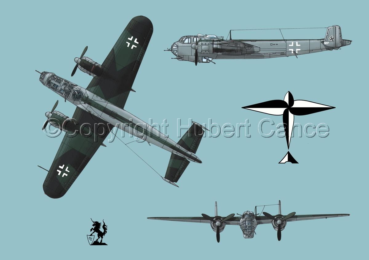 Dornier Do 217E-2 (Logo #1.2) (large view)