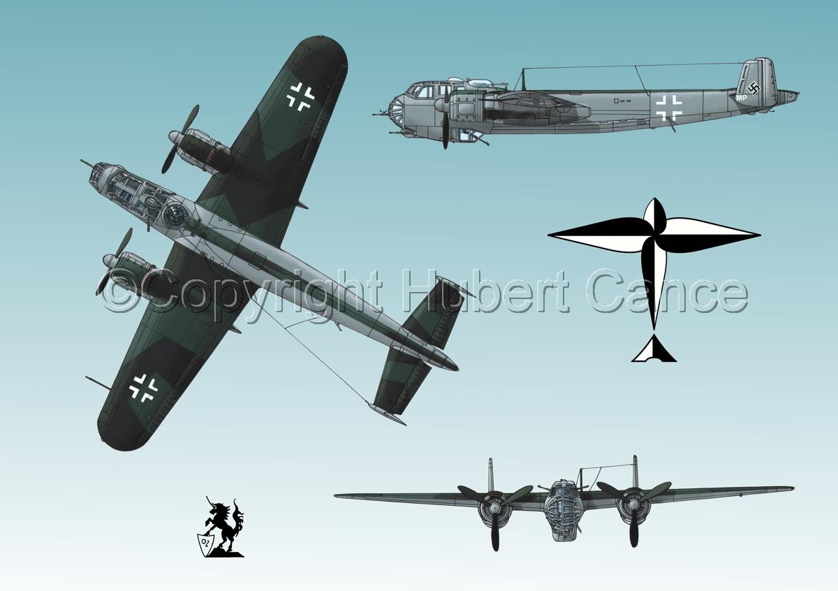 Dornier Do 217E-2 (Logo #1.3) (large view)