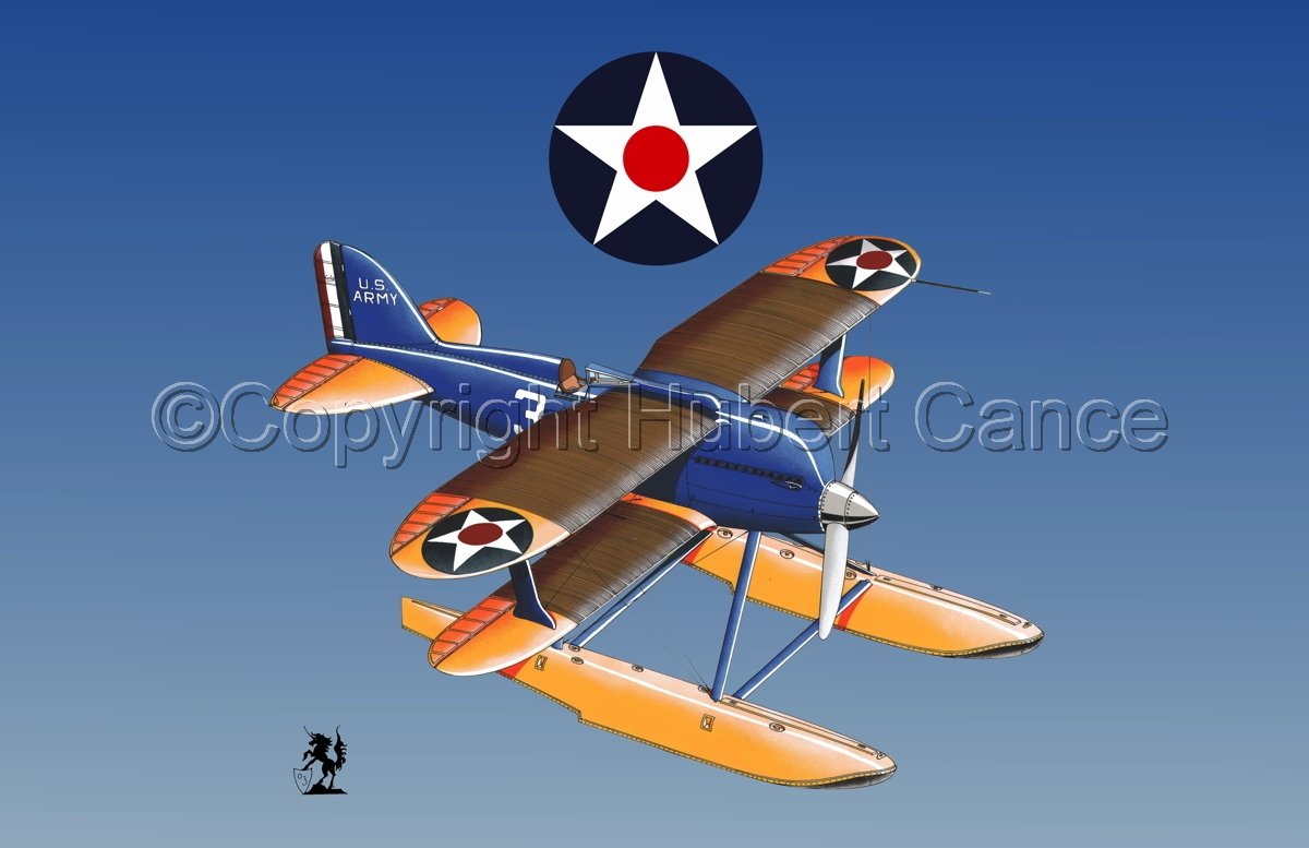 Curtiss R3C2 Army Racer (Roundels #3) (large view)