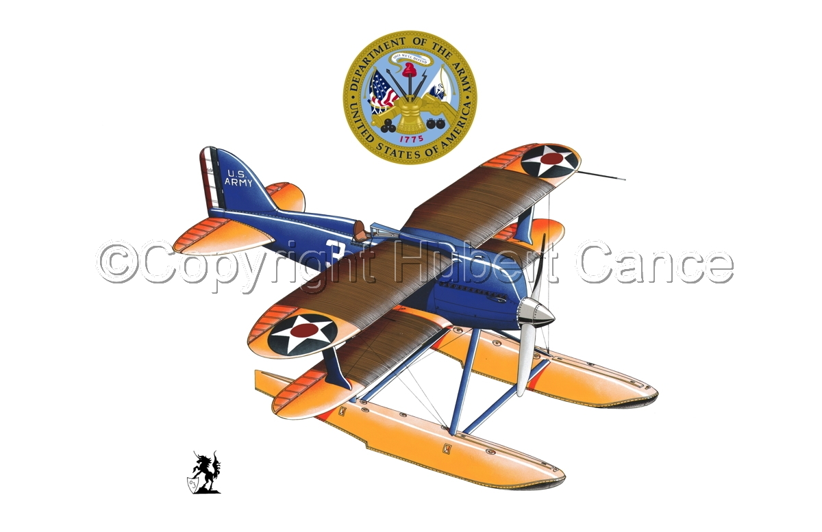 Curtiss R3C2 Army Racer (Insignias #1) (large view)
