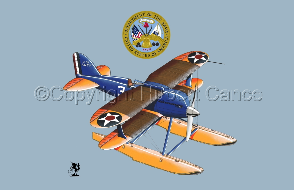 Curtiss R3C2 Army Racer (Insignias #2) (large view)