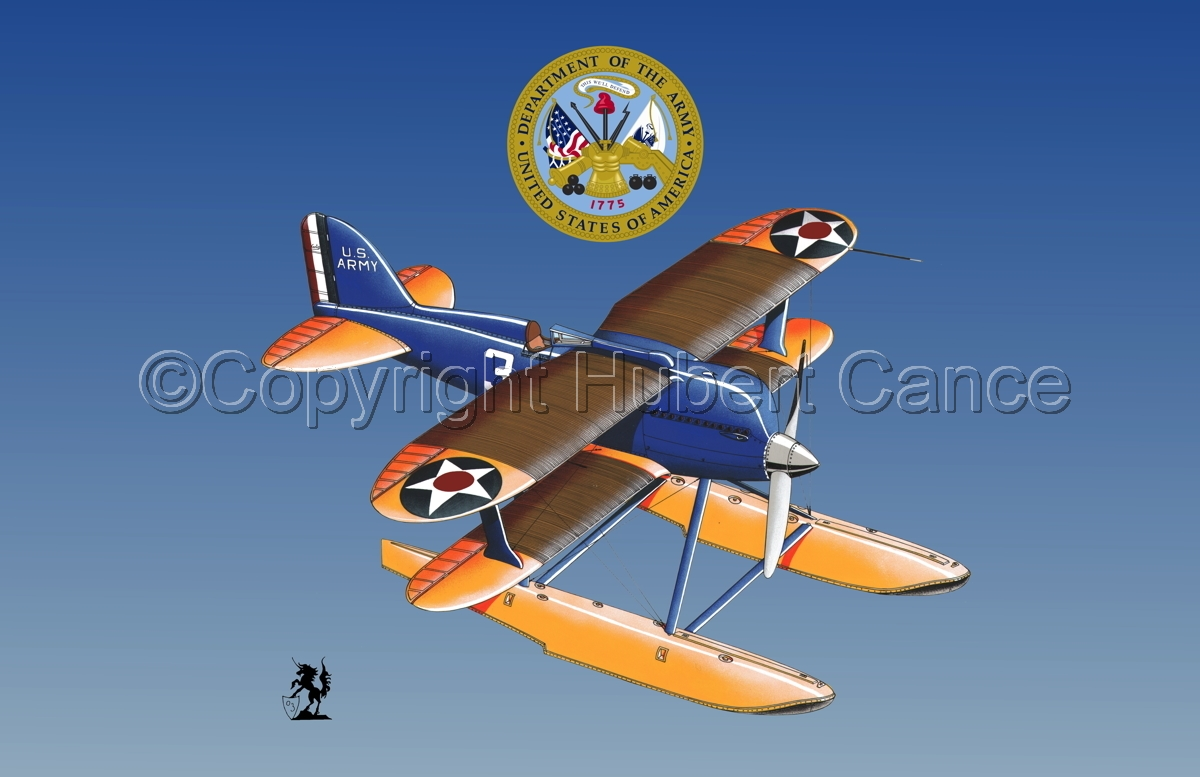 Curtiss R3C2 Army Racer (Insignias #3) (large view)