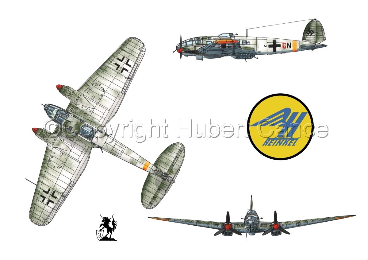 Heinkel He 111H-16 (Logo #1.1) (large view)