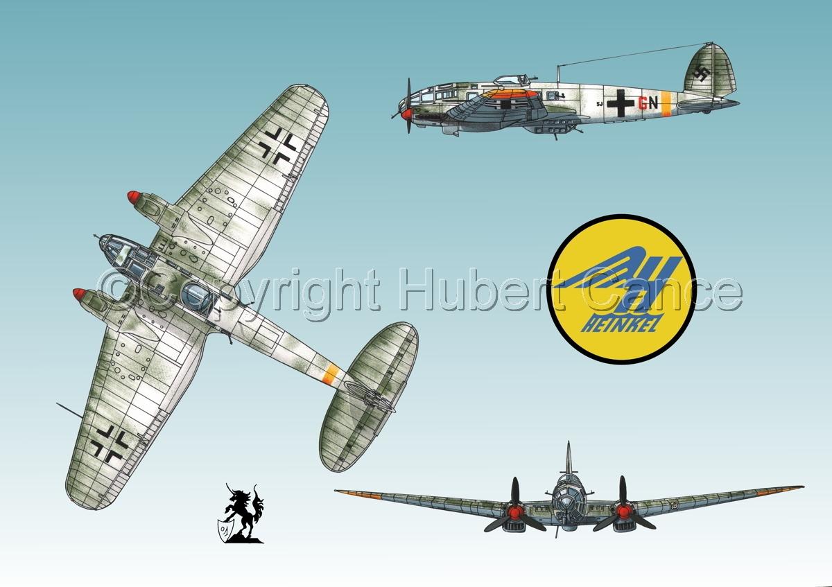 Heinkel He 111H-16 (Logo #1.3) (large view)