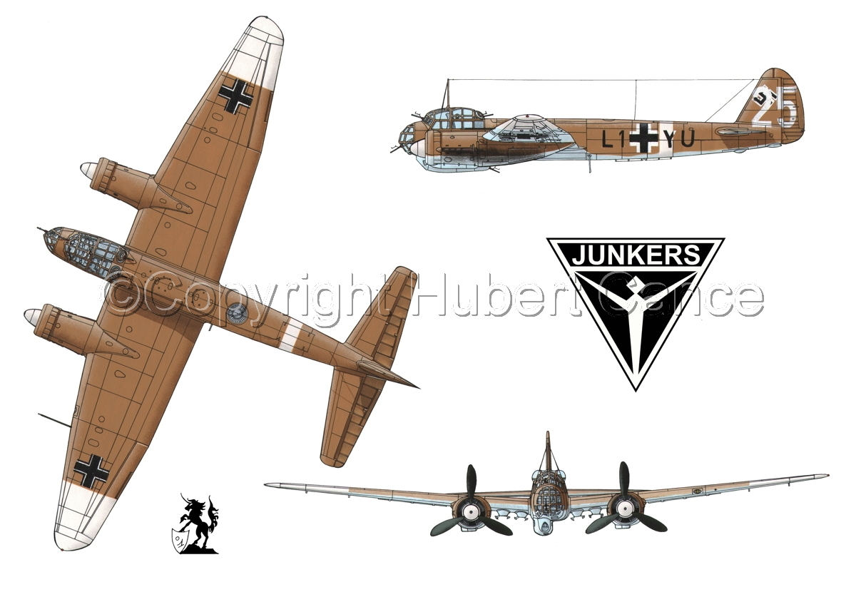 Junkers Ju 88A-4(Logo #1.1) (large view)