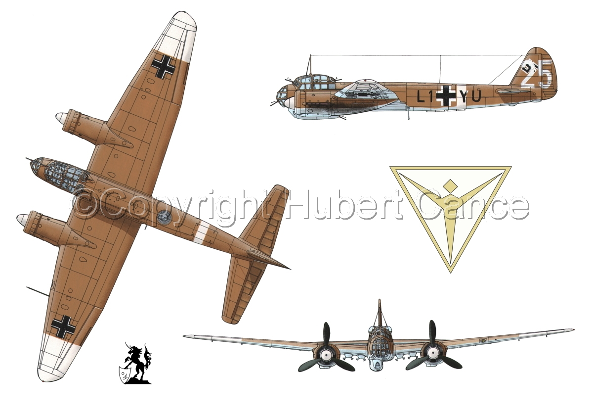 Junkers Ju 88A-4(Logo #2.1) (large view)