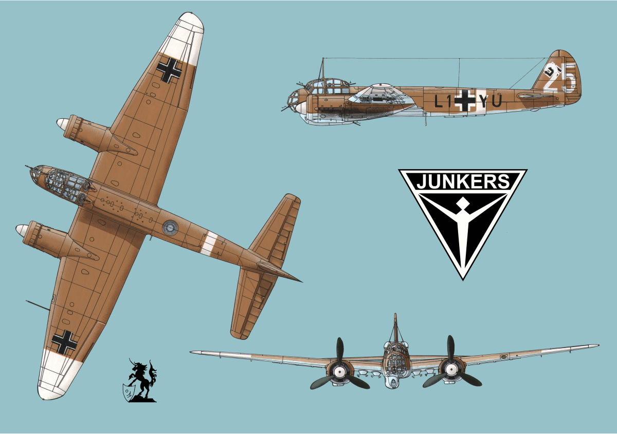 Junkers Ju 88A-4 (Logo #1.2) (large view)