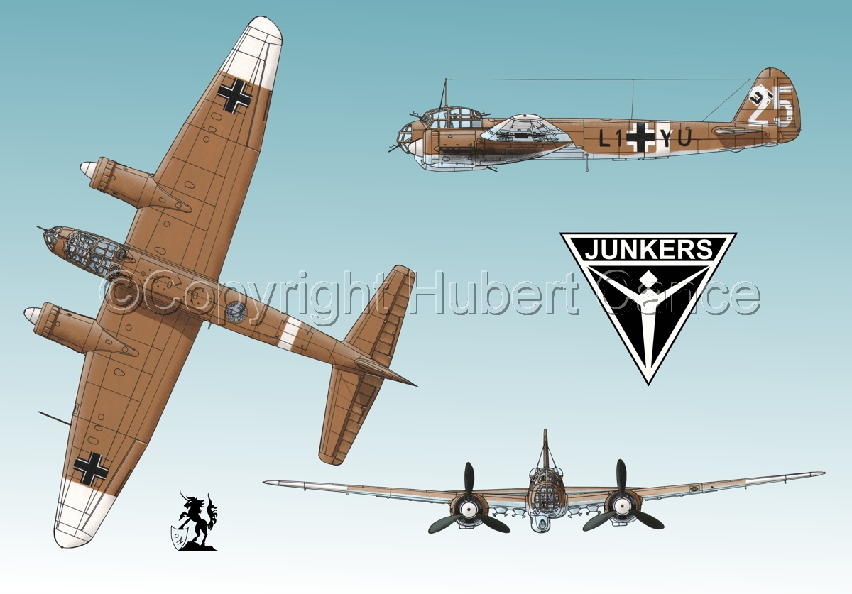 Junkers Ju 88A-4 (Logo #3.1) (large view)