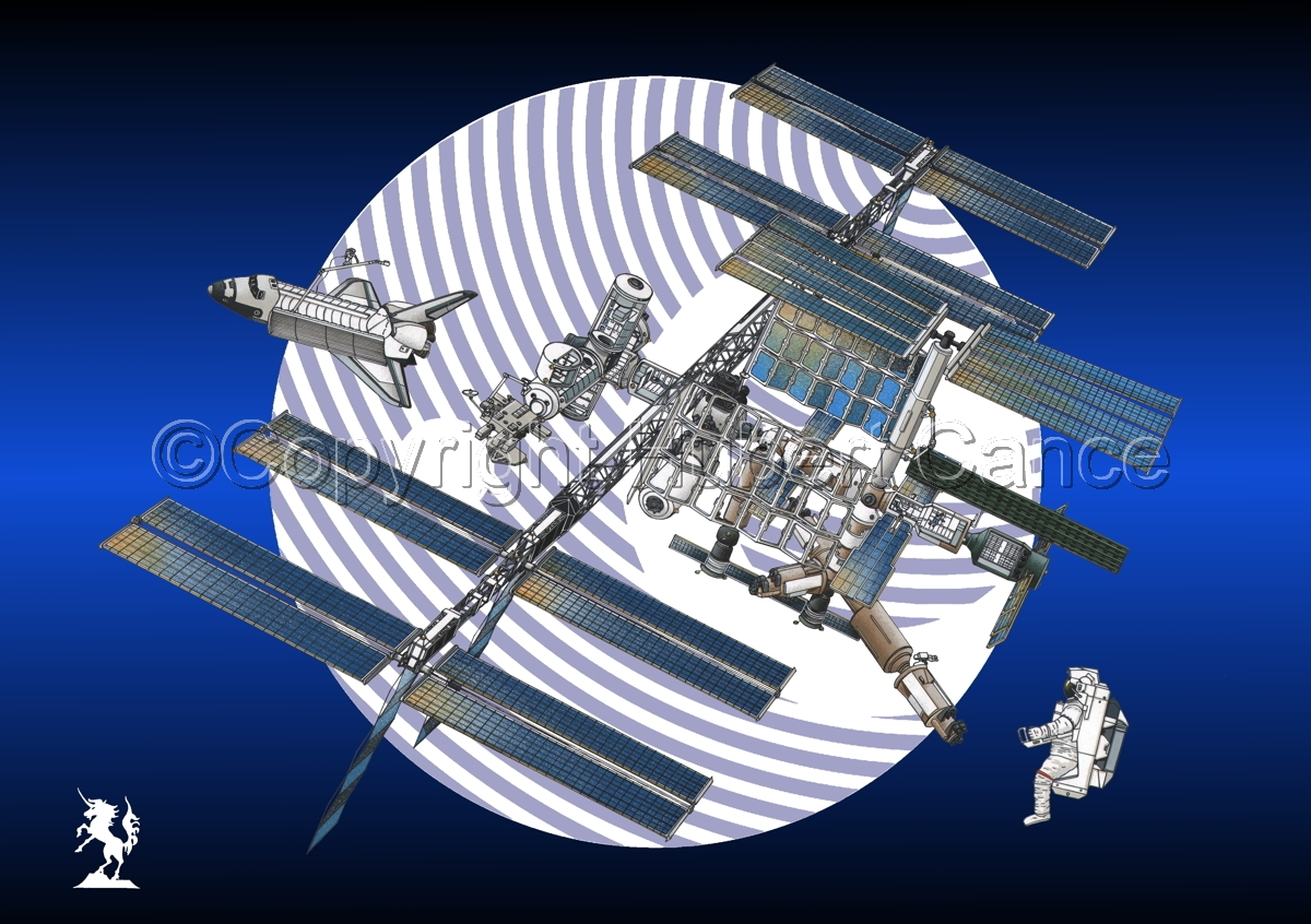 International Space Station (Logo) #1 (large view)