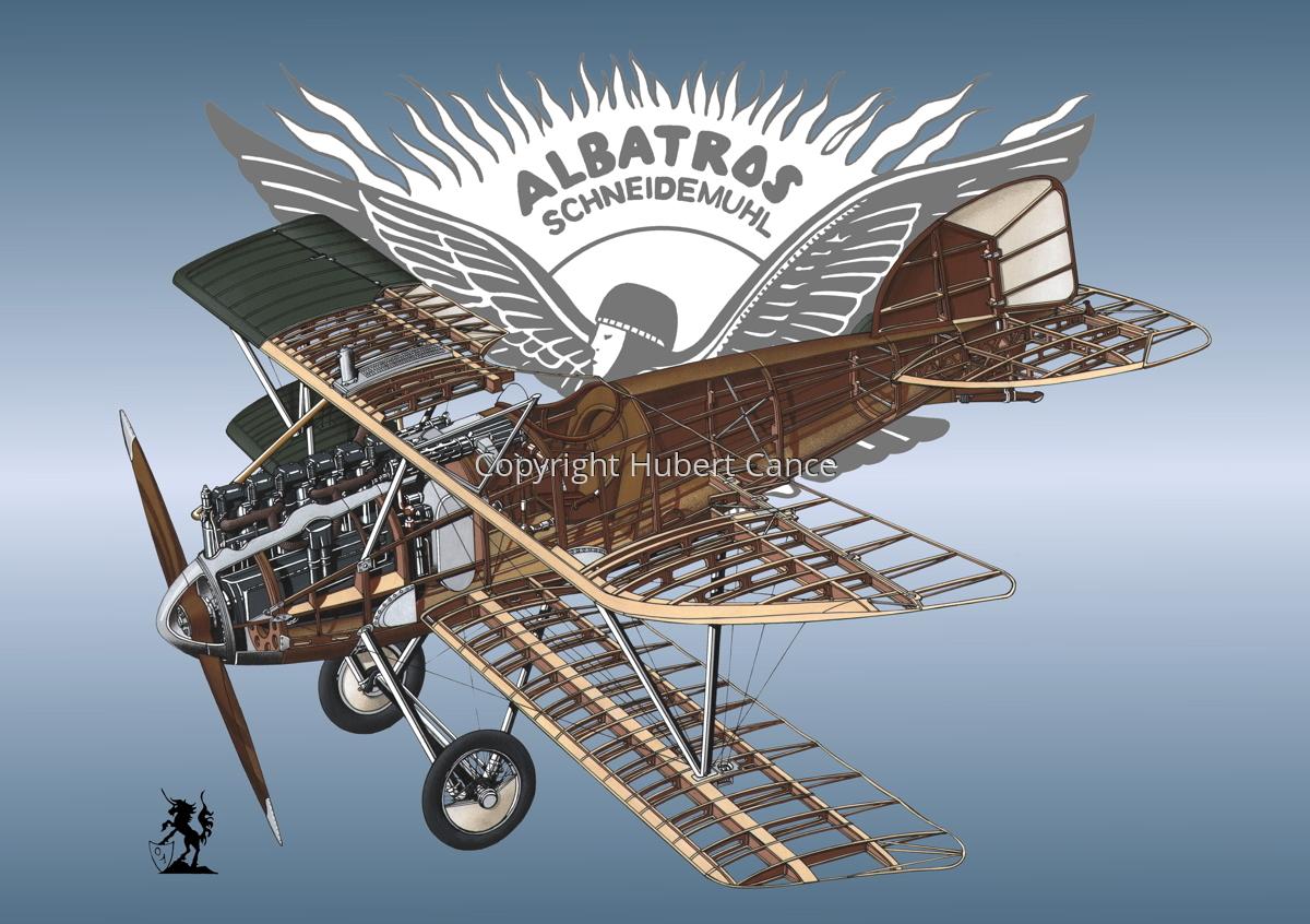 Albatros D.III (Logo #2) (large view)