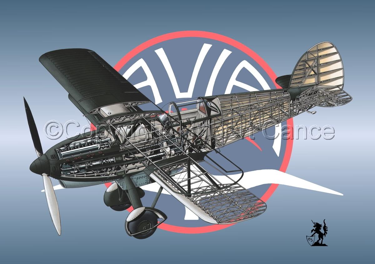 Avia B-534N (Logo #1) (large view)