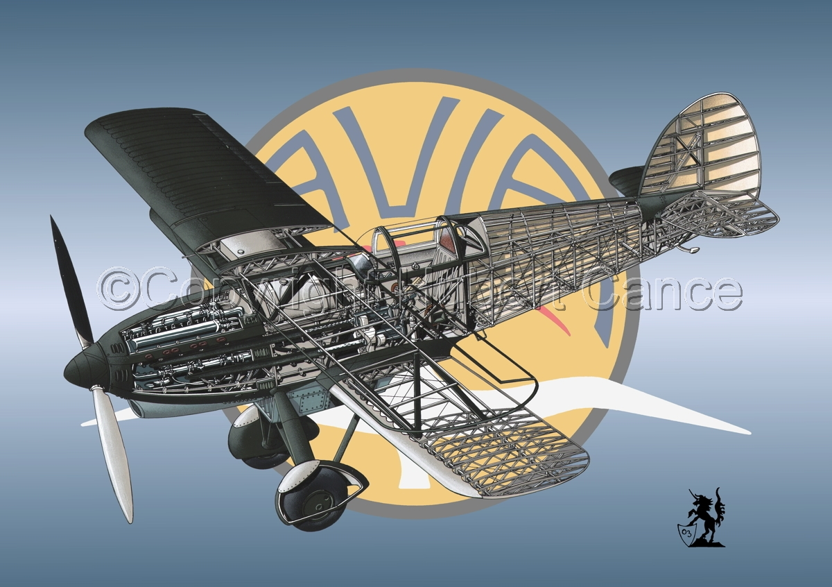 Avia B-534N (Logo #3) (large view)