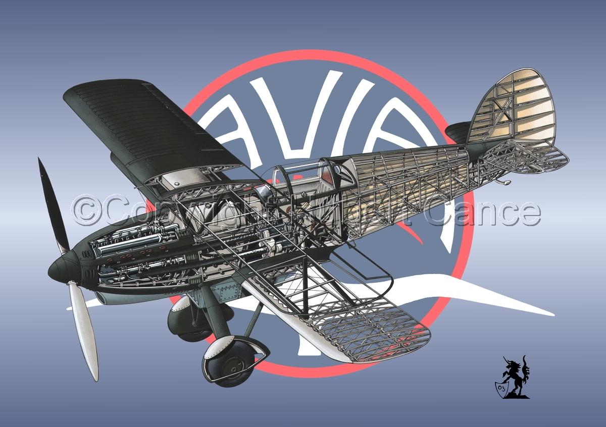 Avia B-534N (Logo #4) (large view)