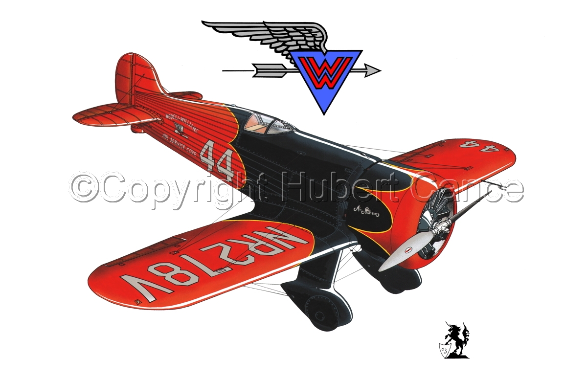 Wedell Williams R44 Racer (Logo) #1.1 (large view)
