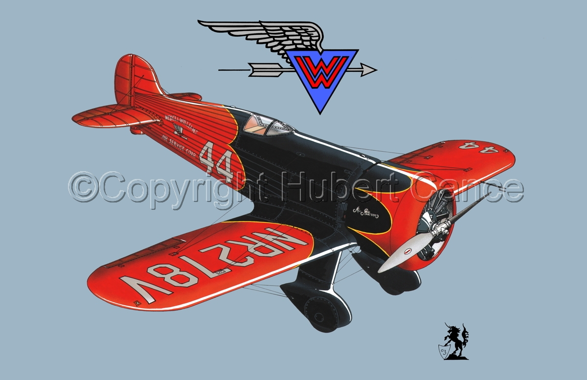 Wedell Williams R44 Racer (Logo) #1.2 (large view)