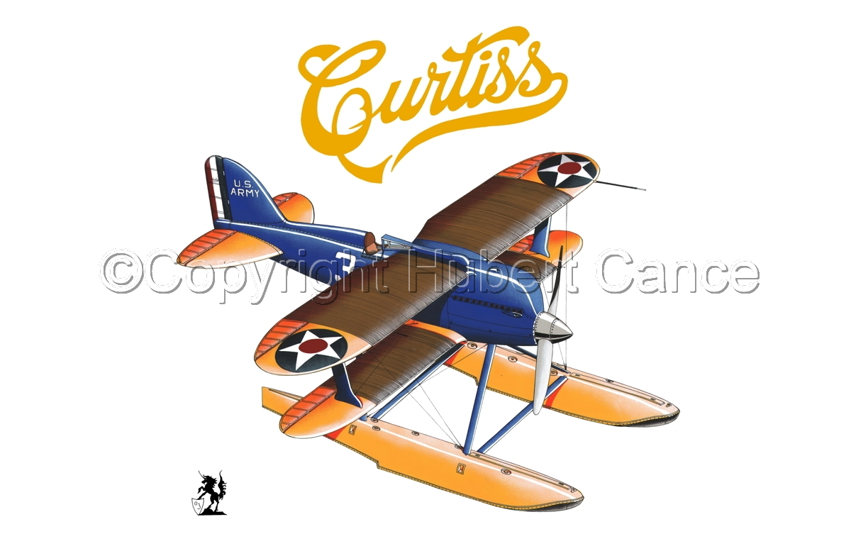 Curtiss R3C2 Army Racer (Logo) #1.1 (large view)