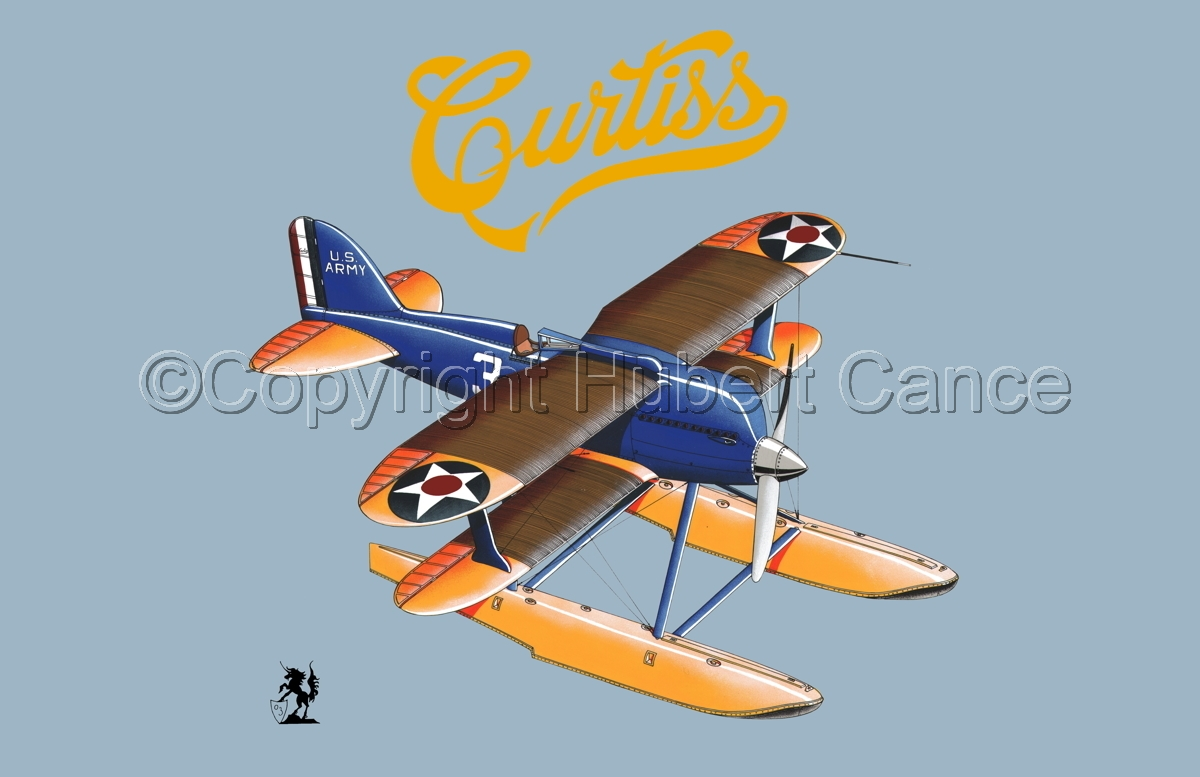 Curtiss R3C2 Army Racer (Logo) #1.2 (large view)