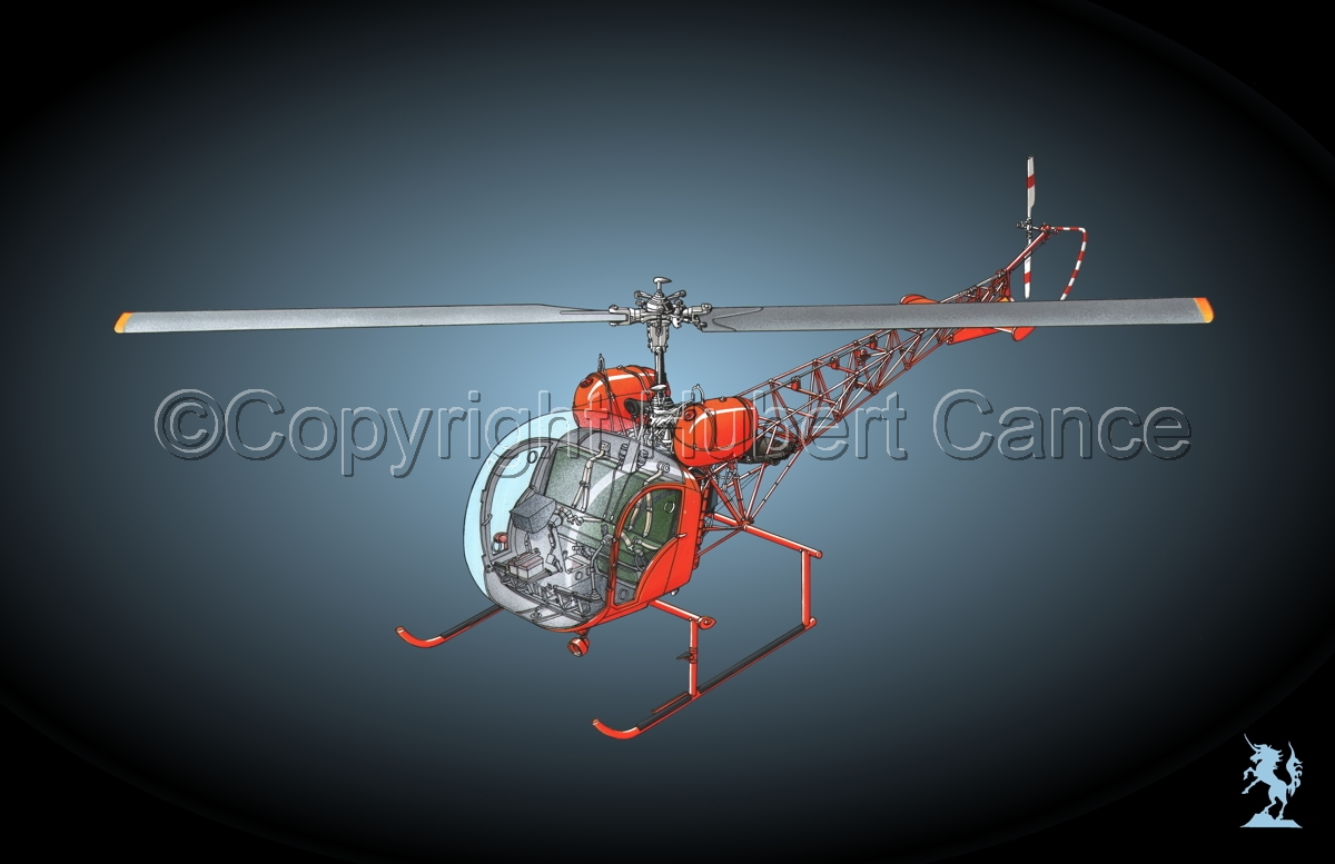 Bell 47 G-4 #3 (large view)
