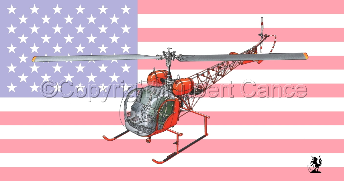 Bell 47 G-4 (Flag) #1 (large view)