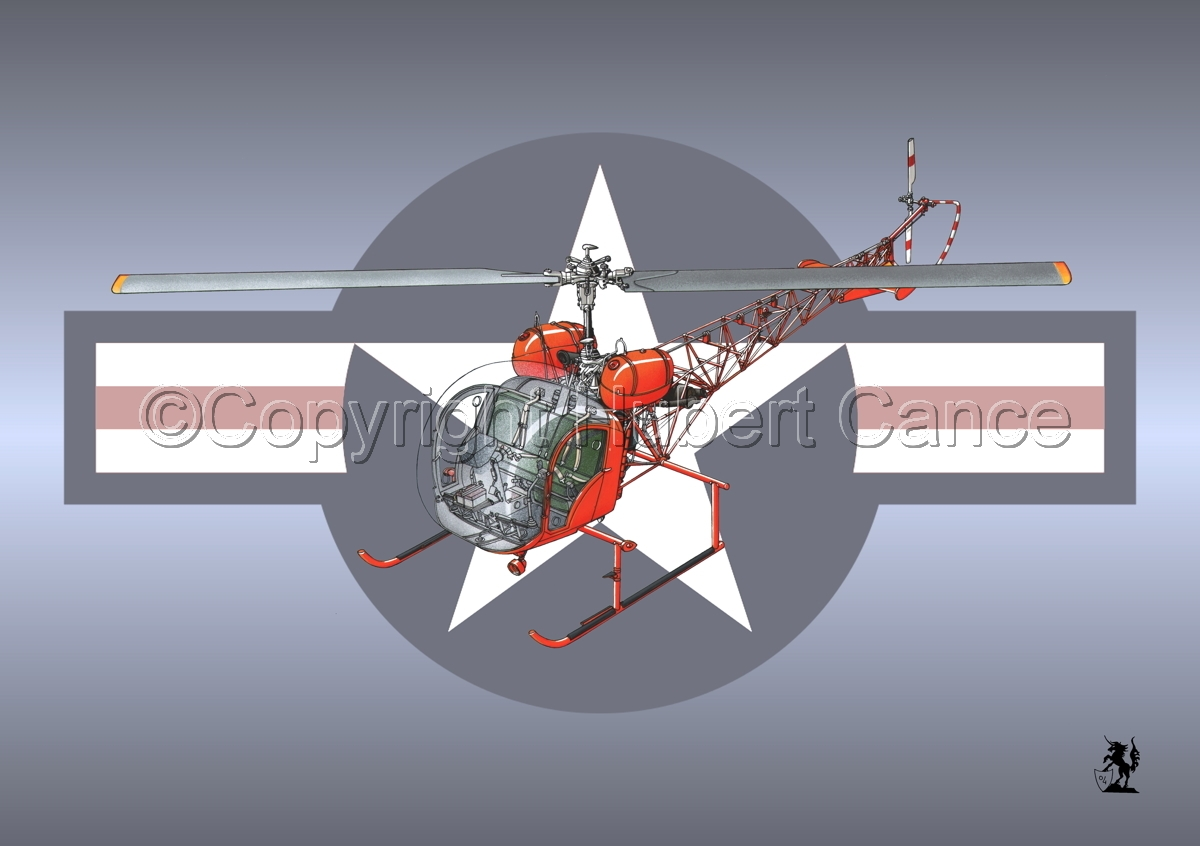 Bell 47 G-4 (Roundel) #1 (large view)